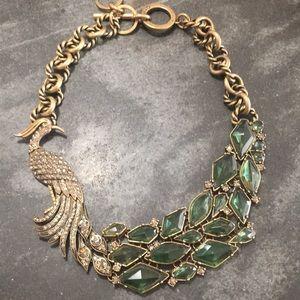 C. Wonder rhinestone chain necklace